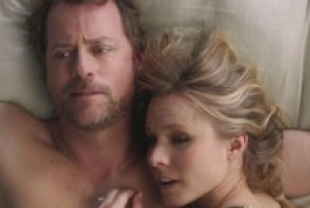 Greg Kinnear as Bill and Kristen Bell as Tricia
