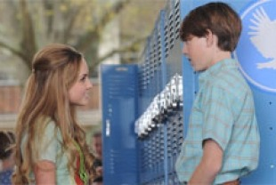 Mia Rose Frampton as Mary Clear and Chase Ellison as Andy Nichol