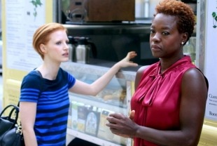 Jessica Chastain as Eleanor and Viola Davis
