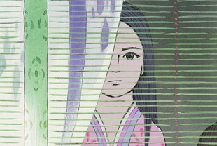 A scene from The Tale of Princess Kaguya