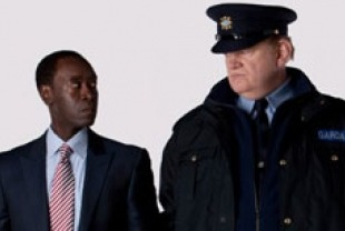 Don Cheadle as Wendell and Brendan Gleeson as Gerry