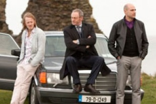 David Wilmot as Liam O'Leary, Liam Cunningham as Francis Sheehy and Mark Strong as Clive Cornell