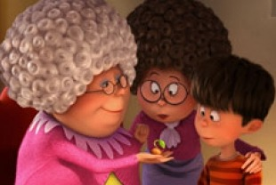 Betty White as Grandma Norma, Jenny Slate as Ted's mom and Zac Efron as Ted
