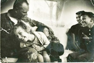Richard and Mildred Loving and their children