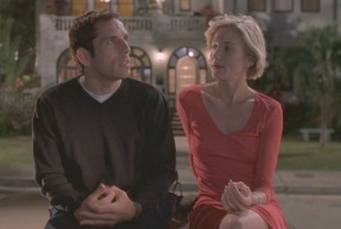 Ben Stiller as Ted and Cameron Diaz as Mary