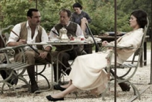 Gilles Lellouche as Bernard and Audrey Tautou as Therese