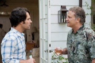 Paul Rudd as Pete and Albert Brooks as Larry