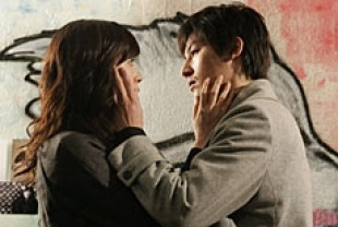 Park Ji-yun as Seh-hee and Ha Jung-woo as Ji-woo