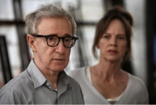 Woody Allen as Jerry and Judy Davis as Phyllis