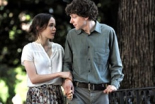 Ellen Page as Monica and Jesse Eisenberg as Jack