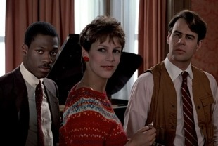 Eddie Murphy, Jamie Lee Cutris and Dan Aykroyd