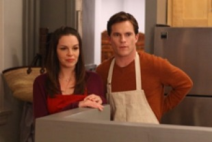 Tammy Blanchard as Jenny and Mike Doyle as Bill