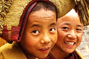 Boy Tibetan Buddhist Monks