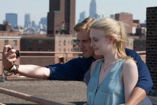 Boyd Holbrook as David and Dakota Fanning as Lily