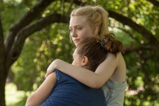 Dakota Fanning as Lily and Elizabeth Olsen as Gerry
