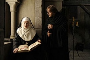 Barbara Sukowa as Hildegard of Bingen and Heino Ferch as Volmar