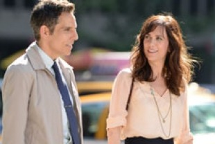Ben Stiller as Walter and Kristen Wiig as Cheryl
