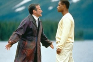 Robin Williams as Chris and Cuba Gooding Jr. as Albert