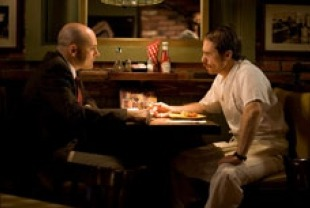 Rob Corddry as Terry Schemerhorn and Sam Rockwell as Bill Greaves
