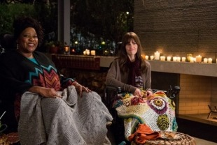 Loretta Devine as Marilyn and Hilary Swank as Kate